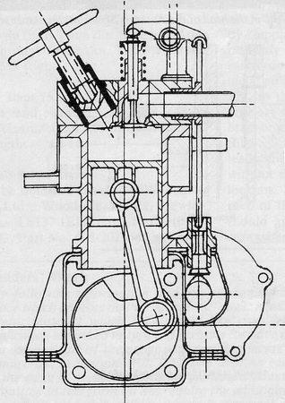 4 Stroke V Twin Engine Build Plans