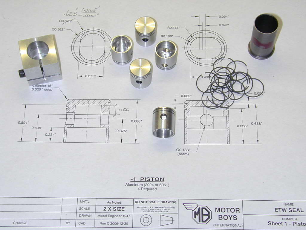 Introduction. Making compression rings for pistons ...