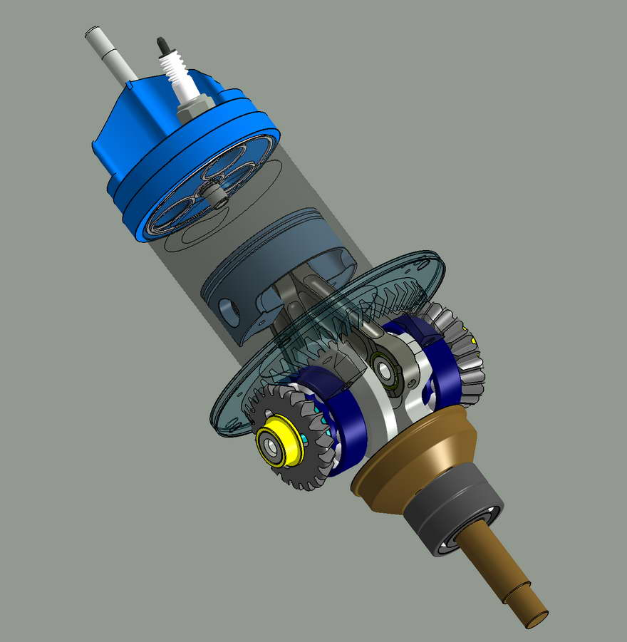 How 2 Stroke Engine Works, How, Free Engine Image For User